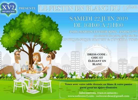 Le Festin en Blanc du 17ème - We Love XV2